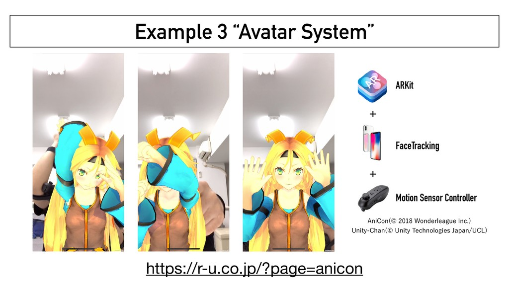 "Example 3 ""Avatar System"" ARKit FaceTracking Mo..."