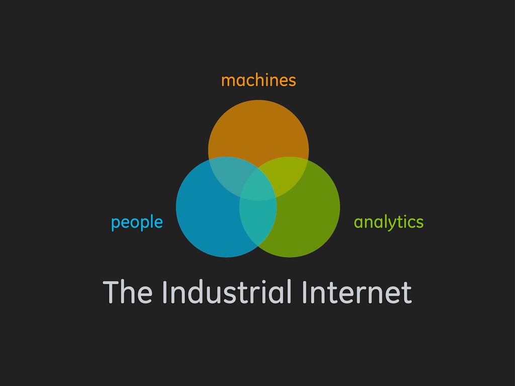 machines analytics people The Industrial Intern...