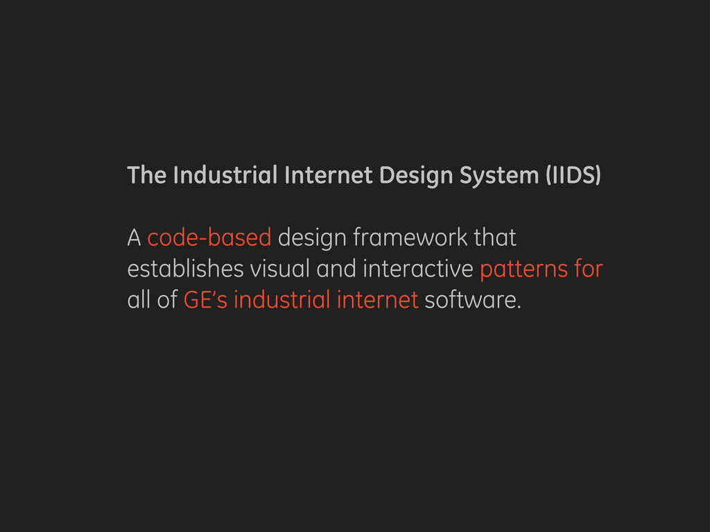 The Industrial Internet Design System (IIDS) A ...