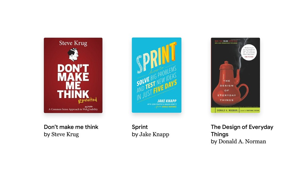Don't make me think   by Steve Krug Sprint   by...