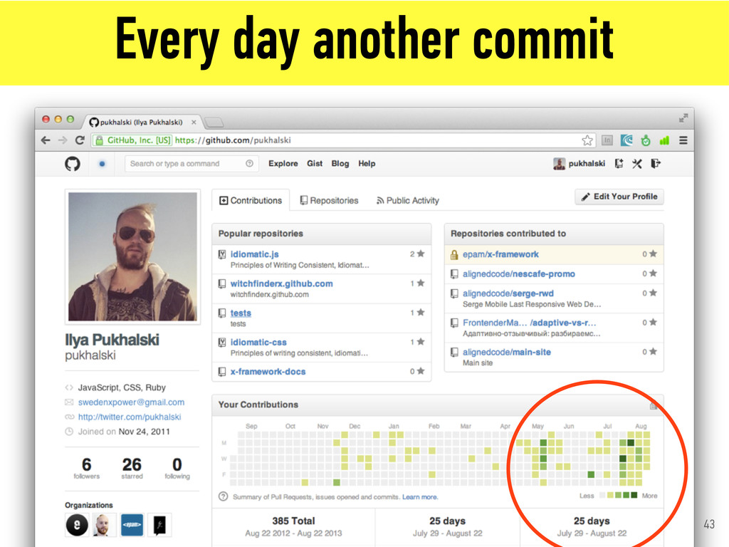 Every day another commit 43