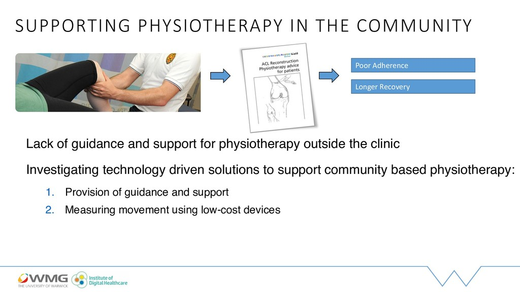 SUPPORTING PHYSIOTHERAPY IN THE COMMUNITY Lack ...