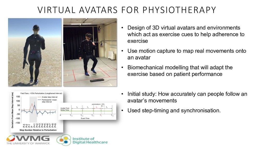 VIRTUAL AVATARS FOR PHYSIOTHERAPY • Design of 3...