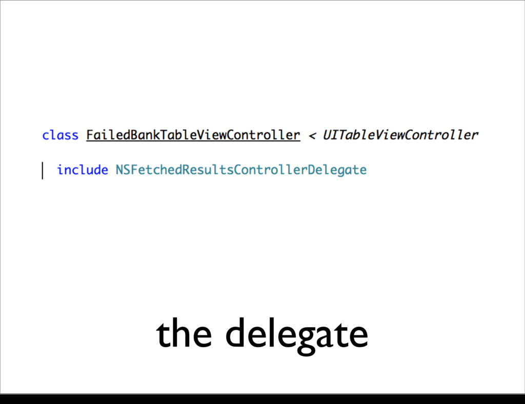 the delegate Monday, 21 October, 13