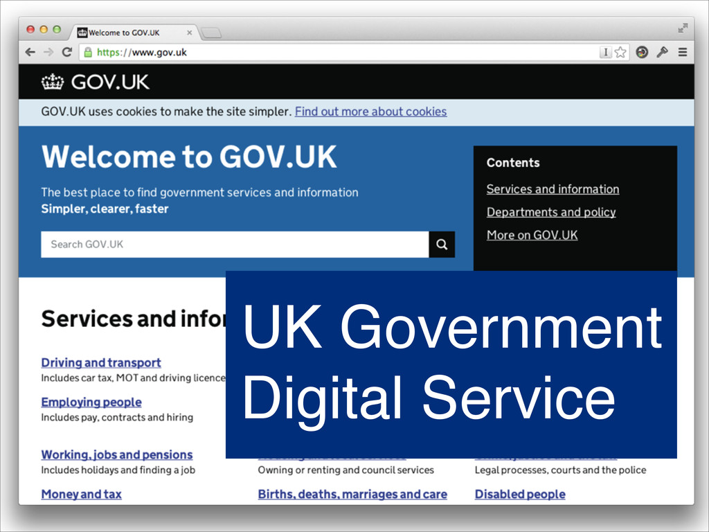 UK Government Digital Service