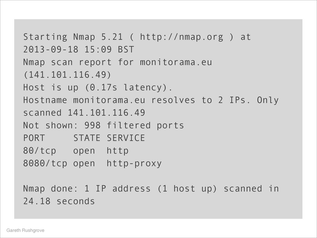 Starting Nmap 5.21 ( http://nmap.org ) at 2013-...