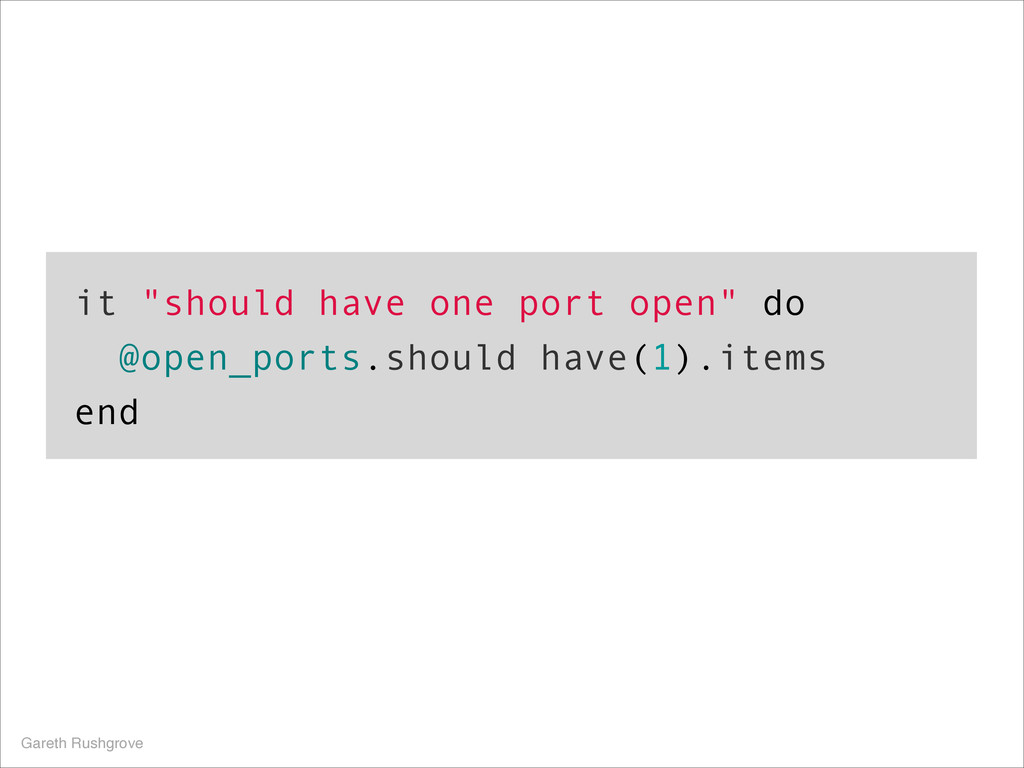 "it ""should have one port open"" do @open_ports.s..."