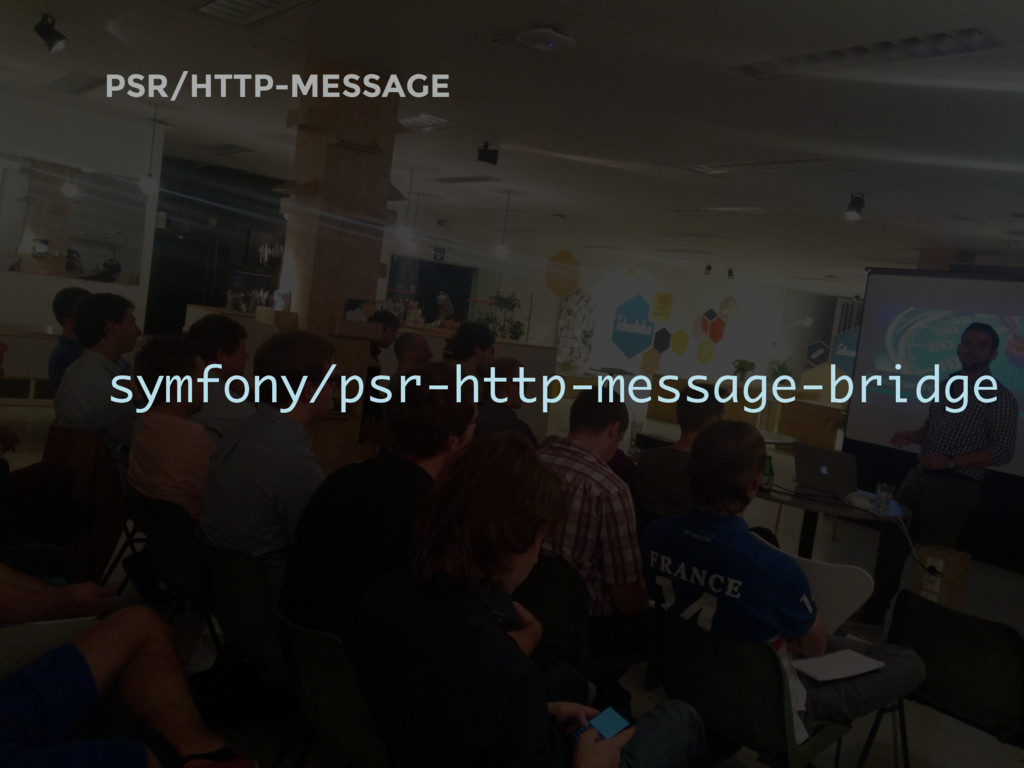 PSR/HTTP-MESSAGE symfony/psr-http-message-bridge