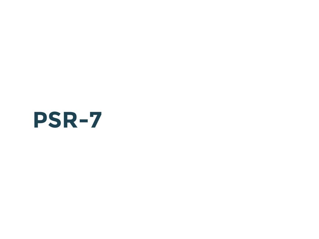 PSR-7