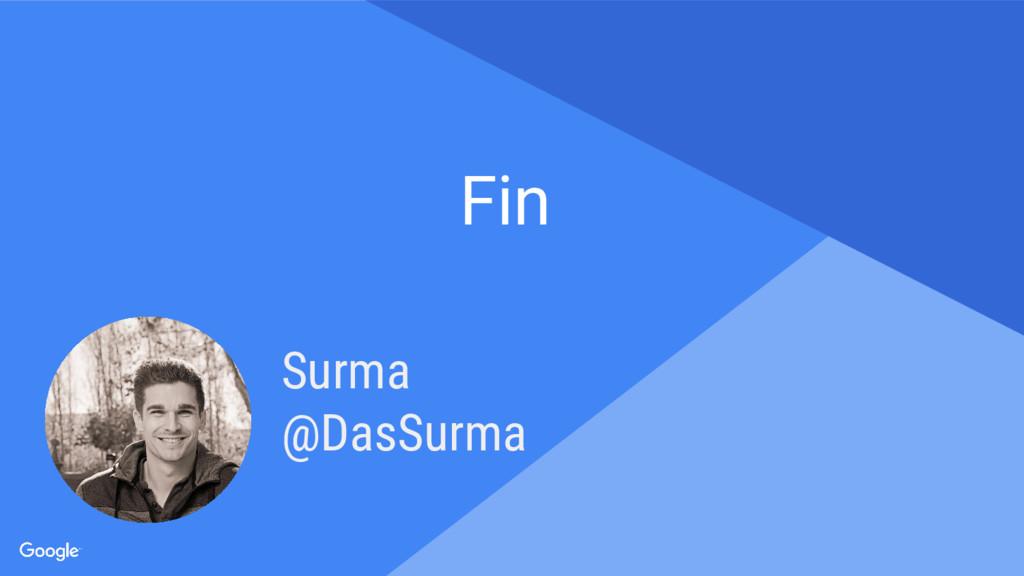 Proprietary + Confidential Fin Surma @DasSurma