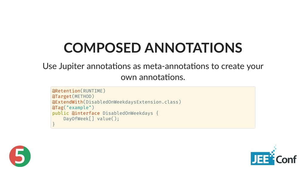 5 COMPOSED ANNOTATIONS Use Jupiter annota ons a...