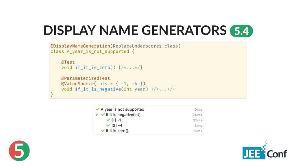 5 DISPLAY NAME GENERATORS 5.4 @DisplayNameGener...