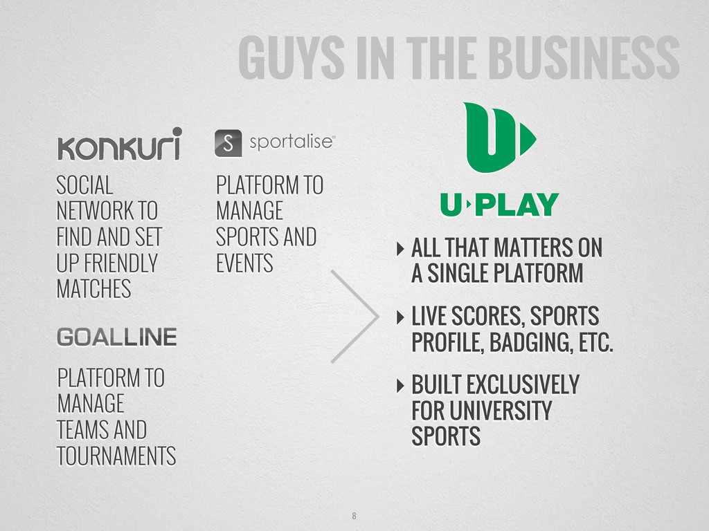 8 GUYS IN THE BUSINESS SOCIAL NETWORK TO FIND A...