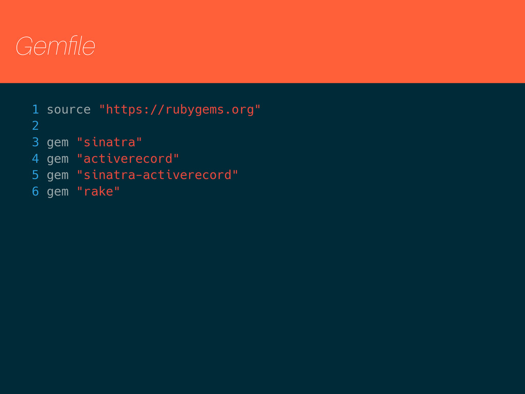 """Gemfile 1 source """"https://rubygems.org"""" 2 3 gem ..."""