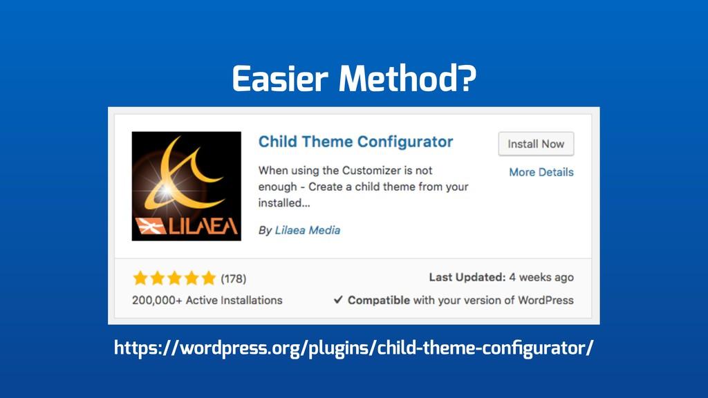 Easier Method? https://wordpress.org/plugins/ch...