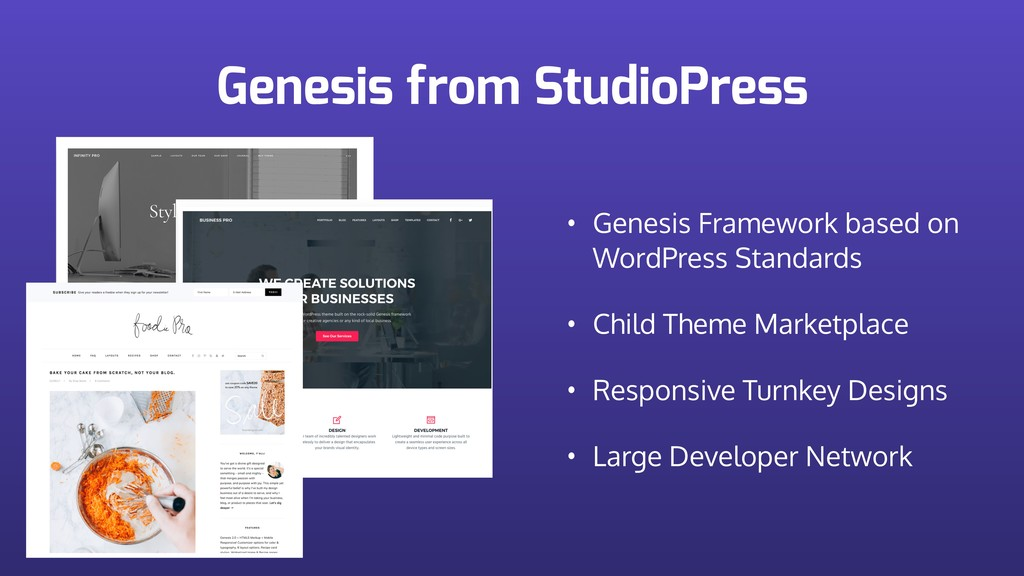 Genesis from StudioPress • Genesis Framework ba...