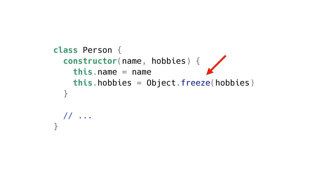 class Person { constructor(name, hobbies) { thi...