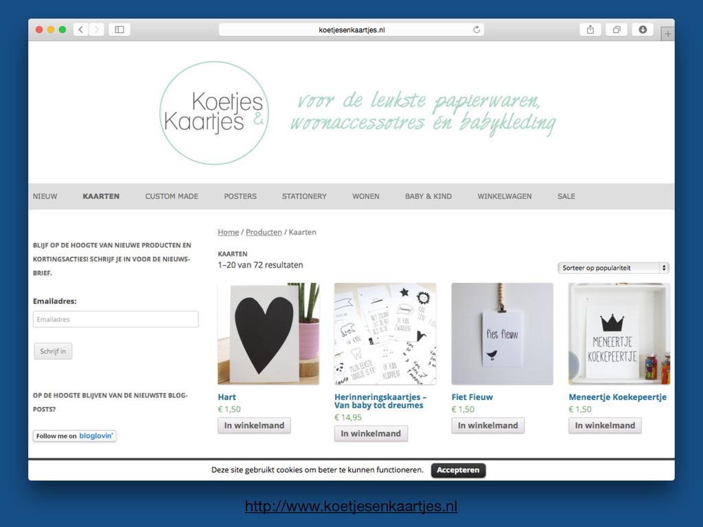 http://www.koetjesenkaartjes.nl