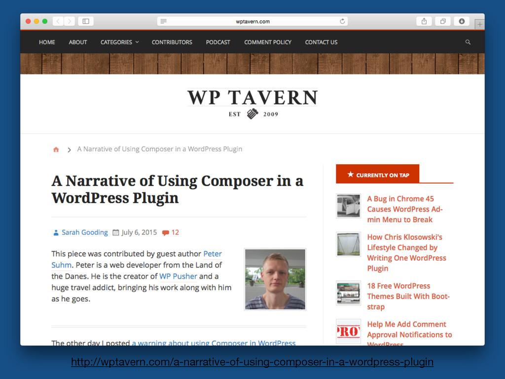 http://wptavern.com/a-narrative-of-using-compos...