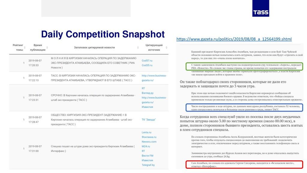 Daily Competition Snapshot https://www.gazeta.r...