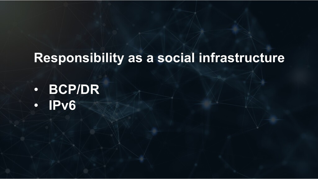 Responsibility as a social infrastructure • BCP...