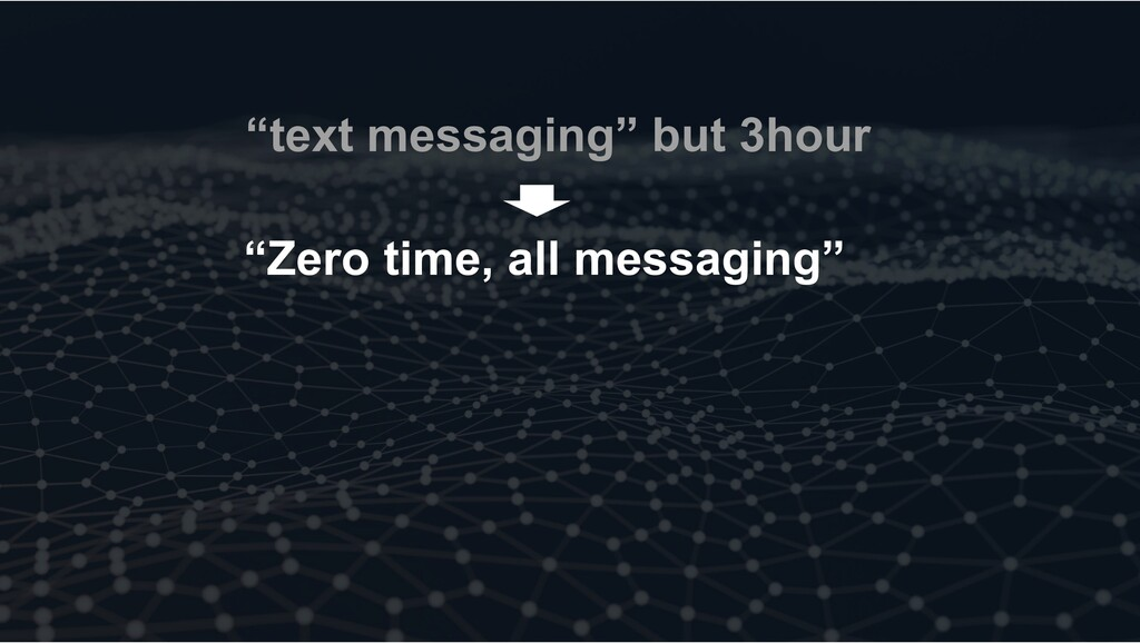 """""""text messaging"""" but 3hour """"Zero time, all mess..."""