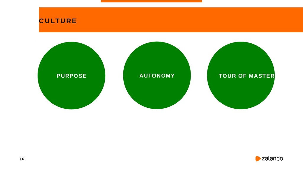 16 CULTURE PURPOSE AUTONOMY TOUR OF MASTERY
