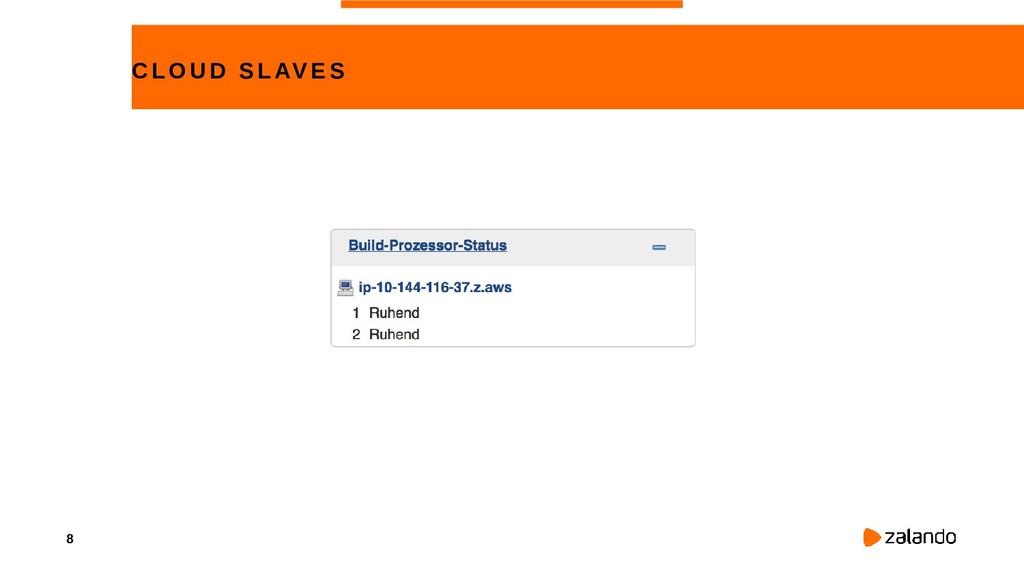 8 CLOUD SLAVE S