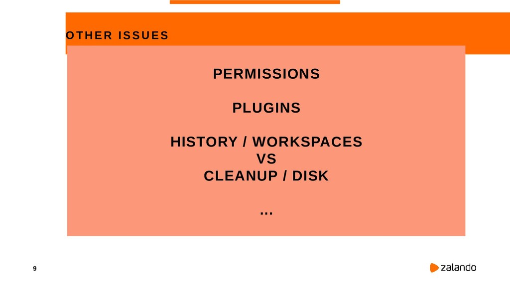9 OTHER ISS UE S PERMISSIONS PLUGINS HISTORY / ...