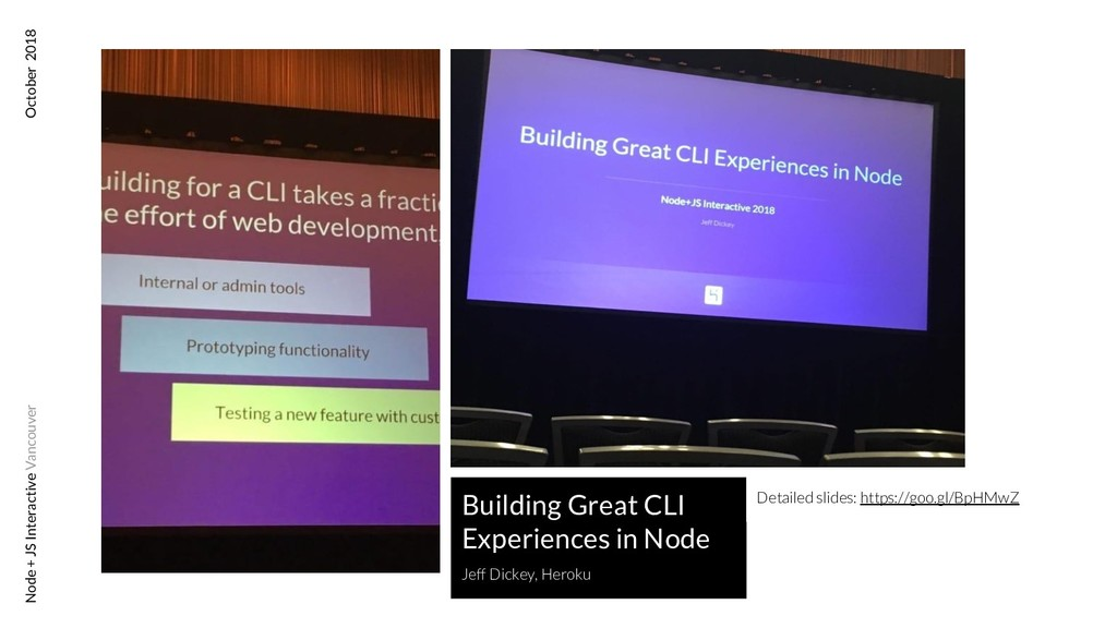 Building Great CLI Experiences in Node Jeff Dic...