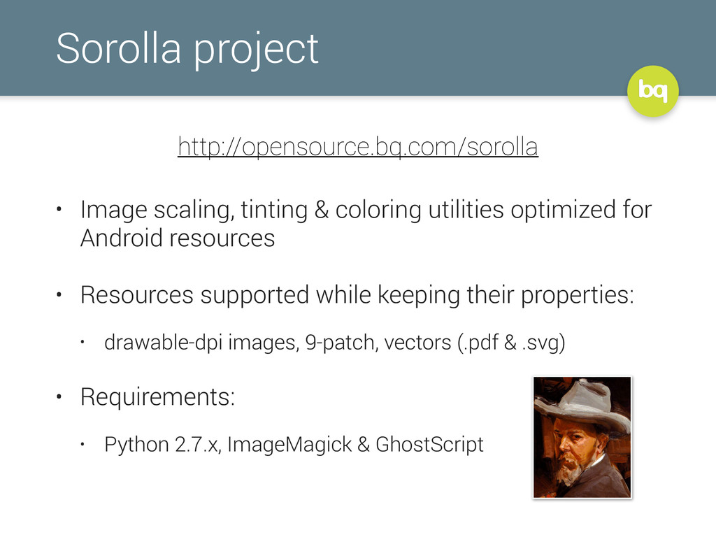 Sorolla project • Image scaling, tinting & colo...