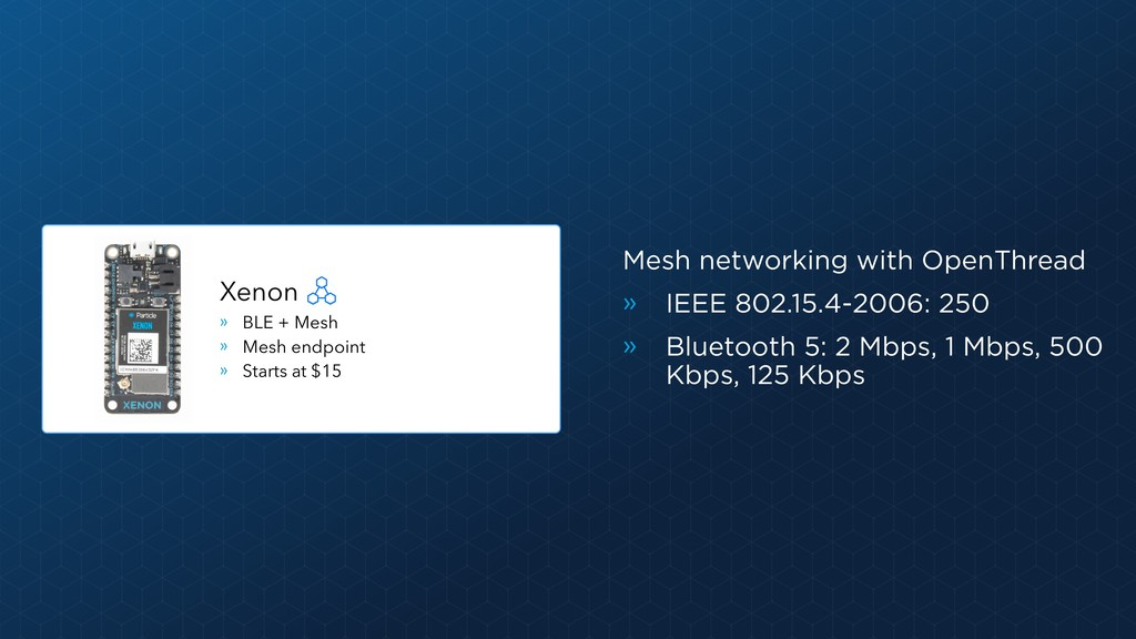 Mesh networking with OpenThread » IEEE 802.15.4...