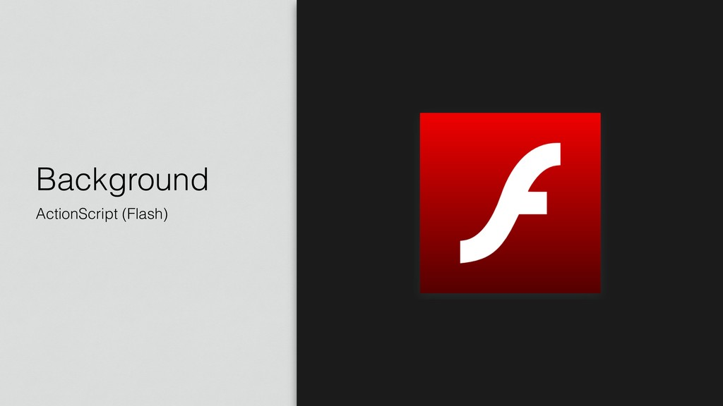 Background ActionScript (Flash)