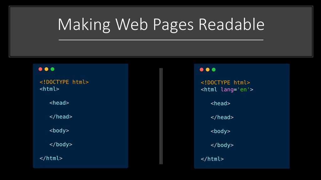 Making Web Pages Readable