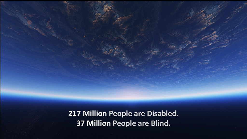 217 Million People are Disabled. 37 Million Peo...