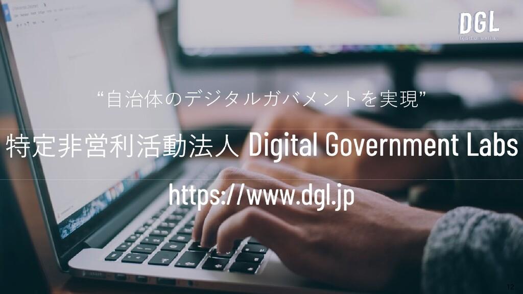 """""""自治体のデジタルガバメントを実現"""" 12"""