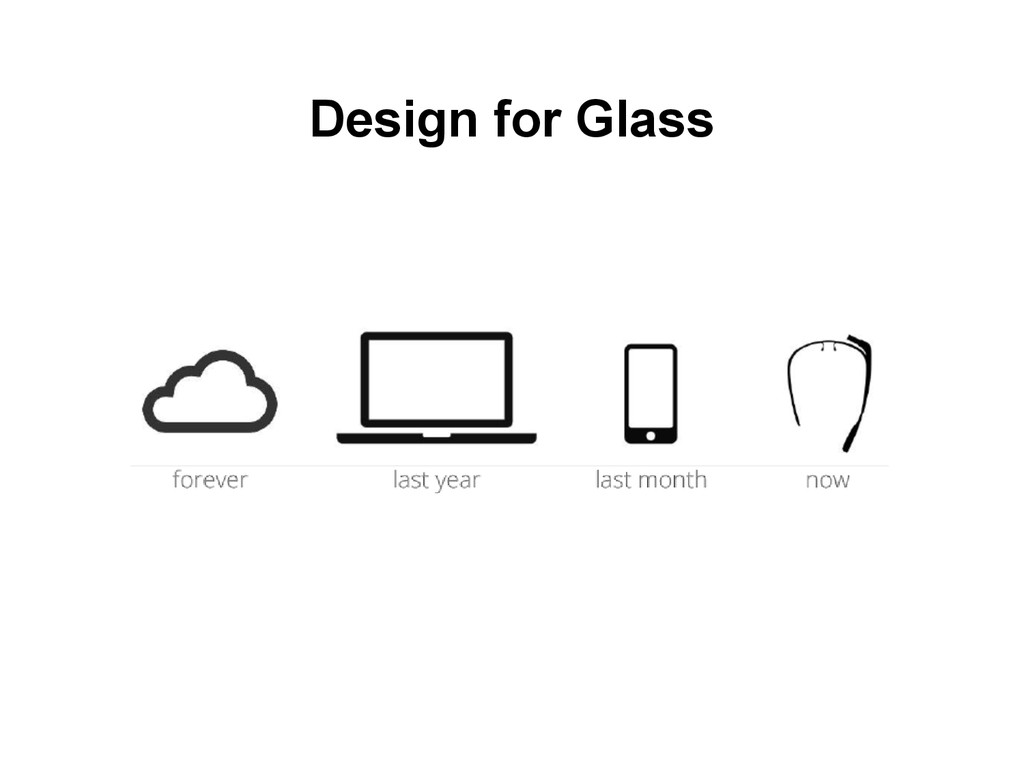 Design for Glass