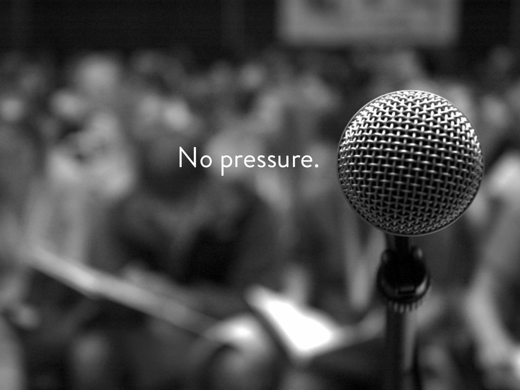 @marktimemedia No pressure.