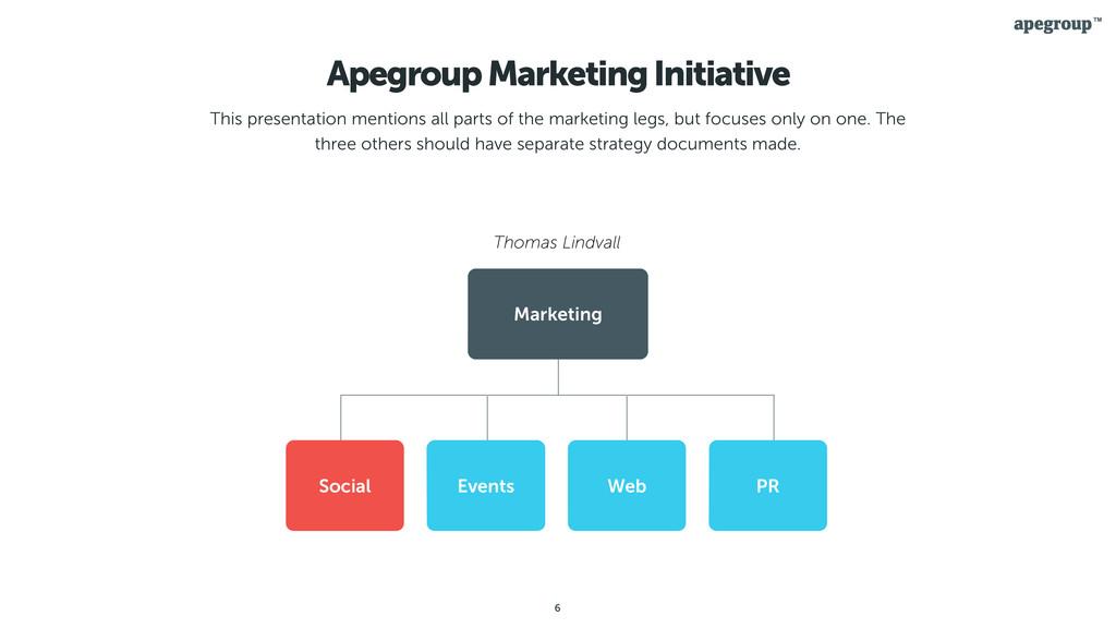 6 Apegroup Marketing Initiative This presentati...