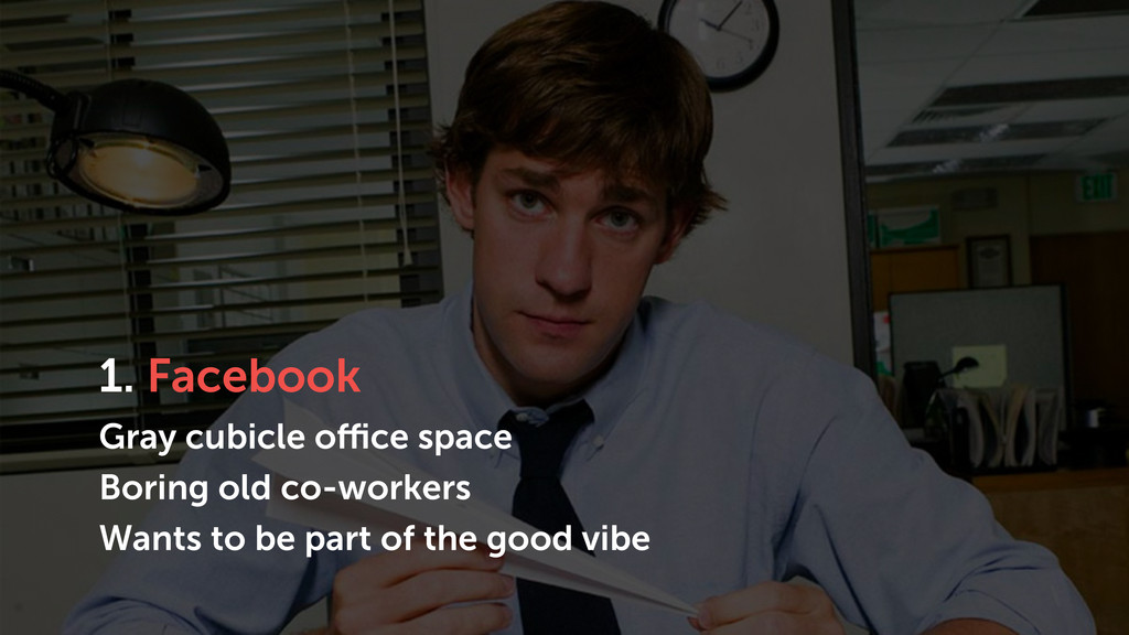 1. Facebook Gray cubicle office space Boring ol...