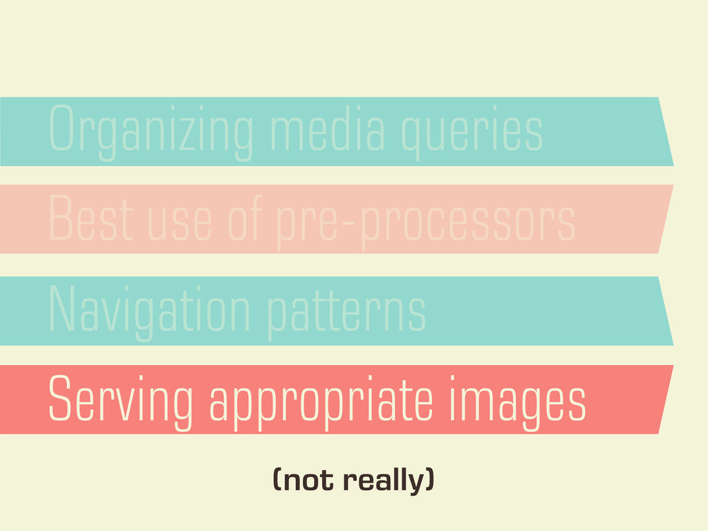 Organizing media queries Best use of pre-proces...