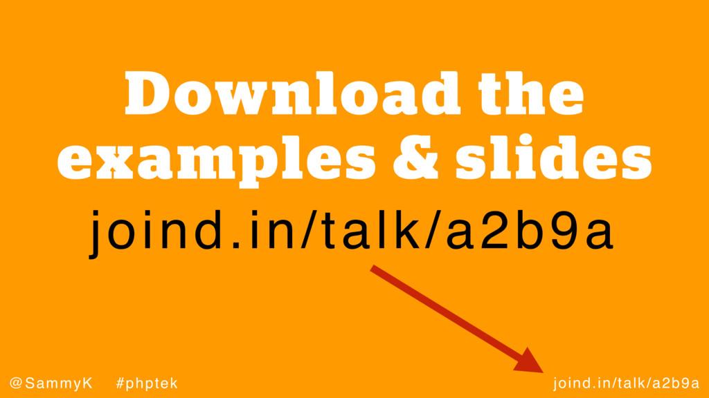 joind.in/talk/a2b9a @SammyK #phptek Download th...