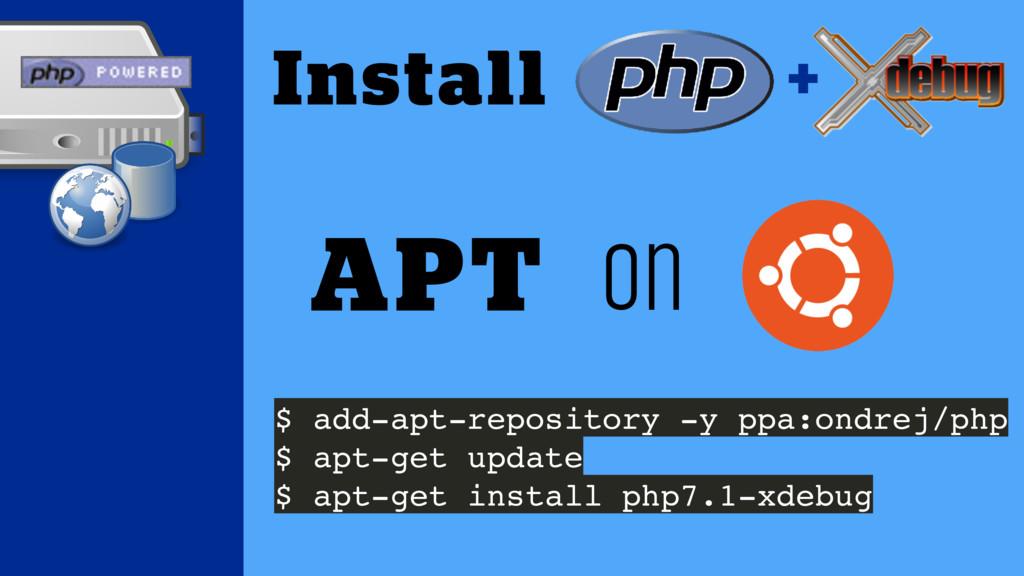 $ add-apt-repository -y ppa:ondrej/php $ apt-ge...