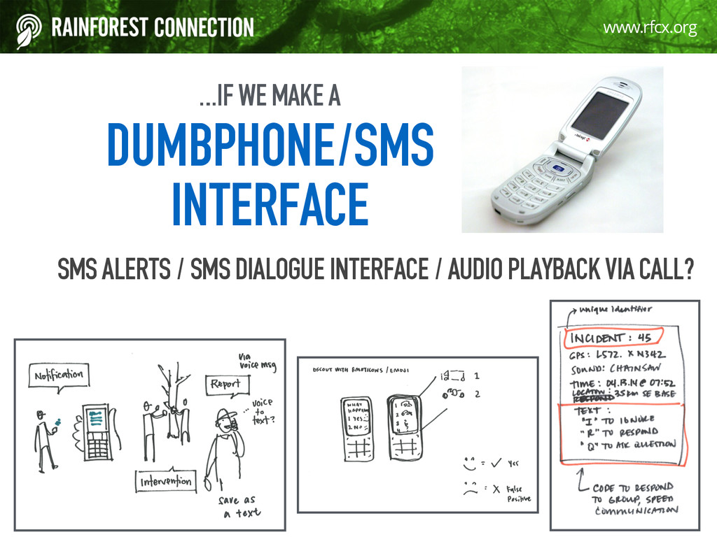 19 www.rfcx.org …IF WE MAKE A 