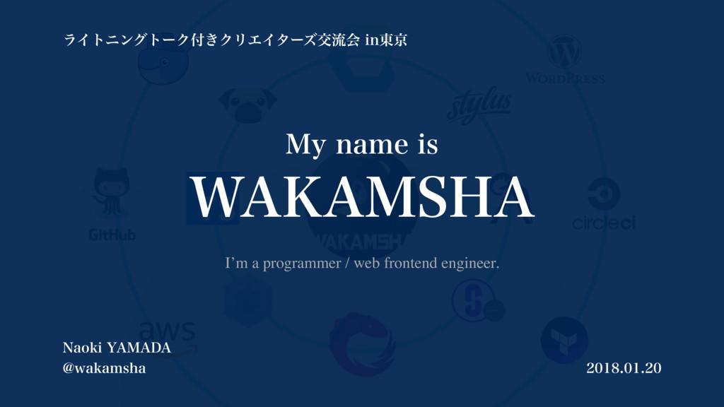 """.ZOBNFJT 8"""","""".4)"""" I'm a programmer / web fro..."""