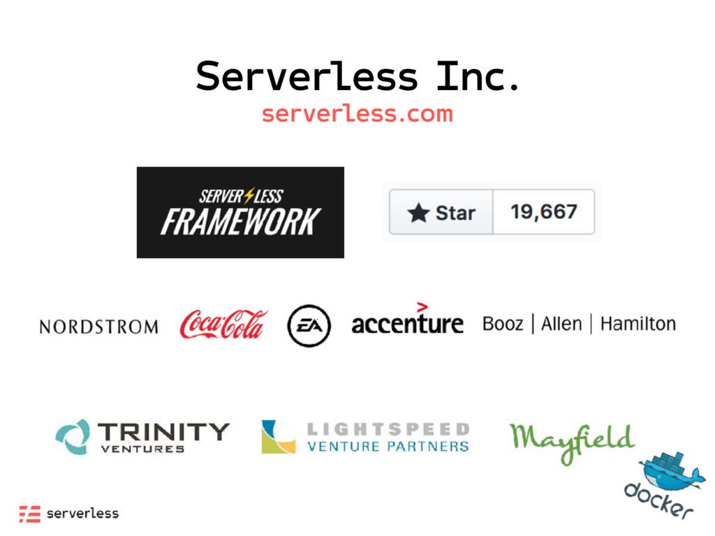Serverless Inc. serverless.com