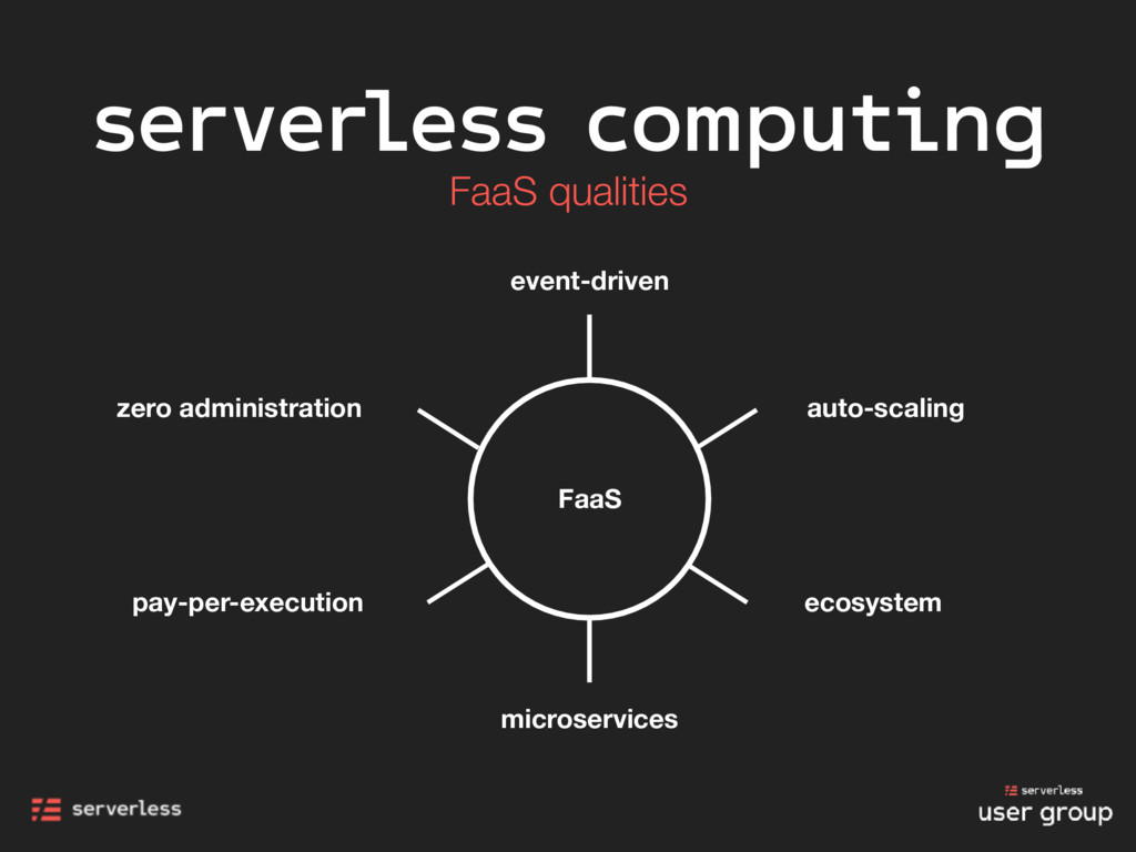 microservices zero administration FaaS pay-per-...