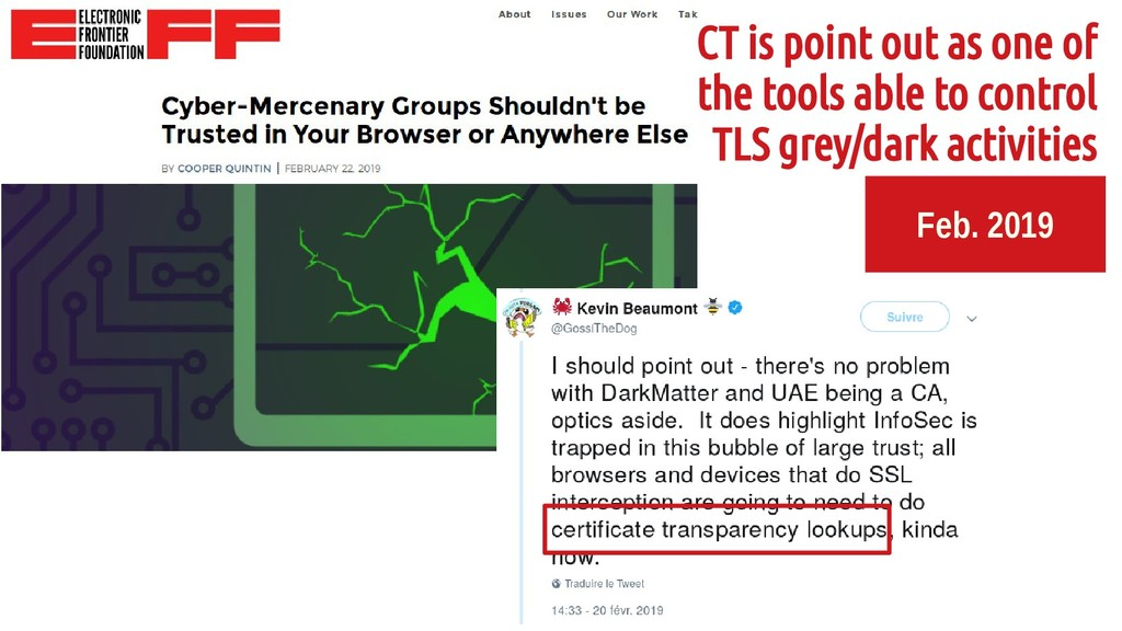 Feb. 2019 CT is point out as one of the tools a...