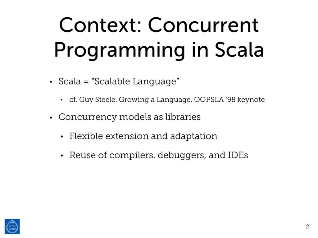 Context: Concurrent Programming in Scala • Scal...