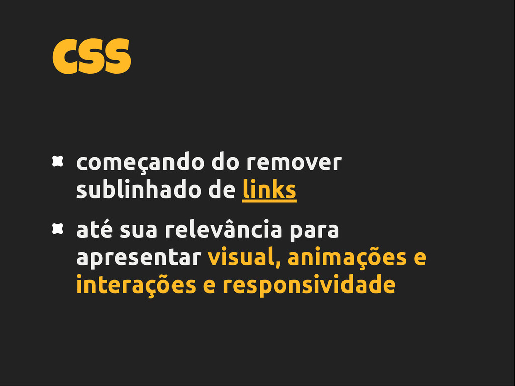 css começando do remover sublinhado de links at...